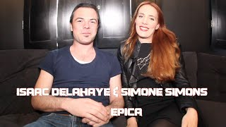 EPICA: Simone Simons Discusses Motherhood & Isaac Delahaye Shares Musical Influences!