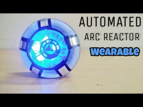 How to make a wearable iron man arc reactor | Automated.