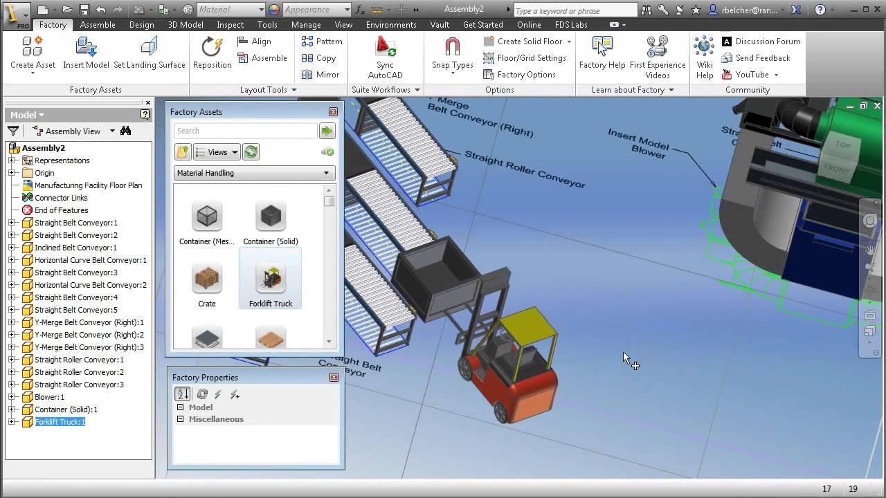 Autodesk Factory Design Suite 2013 Demonstration