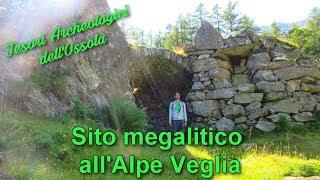 Sito megalitico all'Alpe veglia - Tesori archeologici dell'Ossola