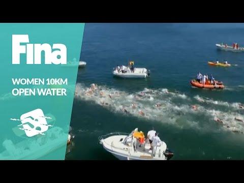 Re-Live: Marathon Swimming - 10km Women - Olympic Games Qualification Tournament