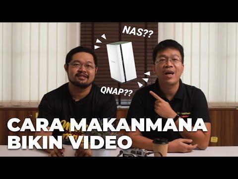 Review NAS Qnap! Begini Cara MakanMana Bikin Konten Cepat Kelar