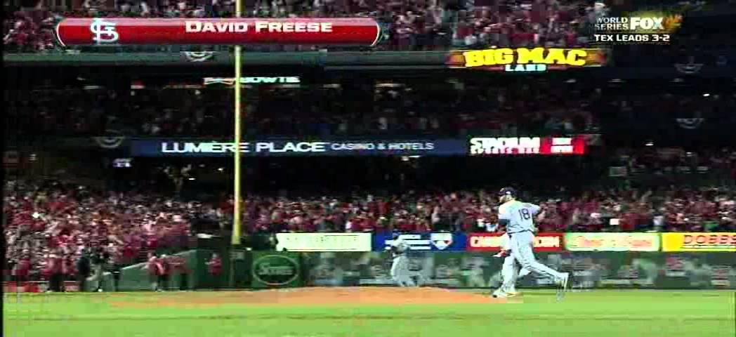 David Freese 2011 World Series Home Run