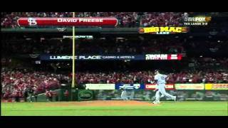 David Freese Walk Off Homerun In The 11th World Series Game 6 (2011) Cardinals Vs Rangers