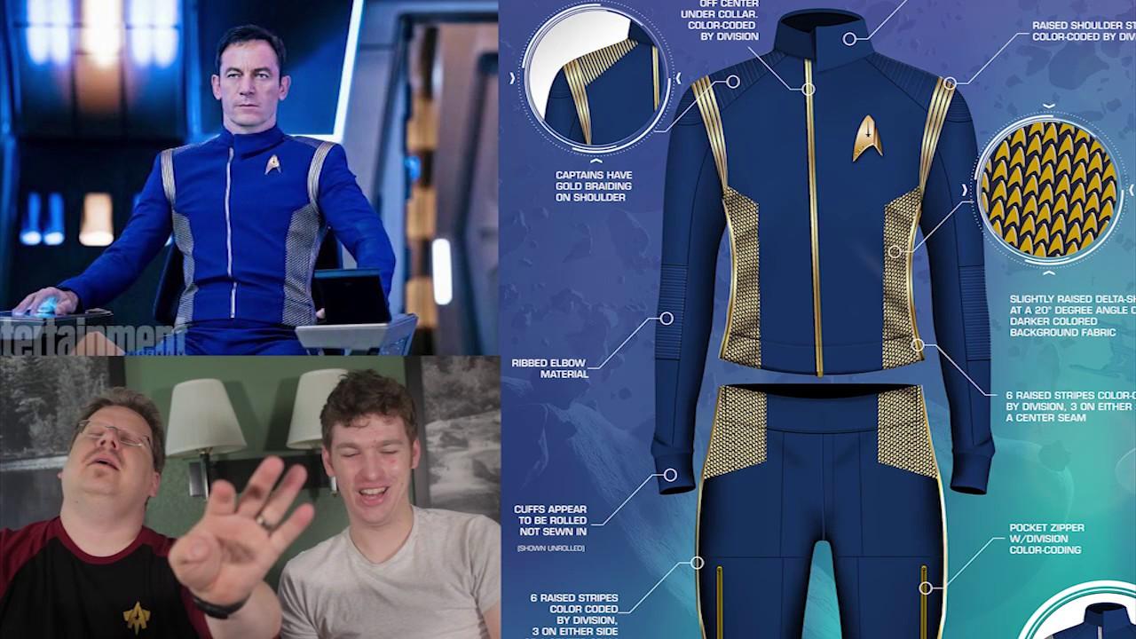 Uniform changes trek star What Do