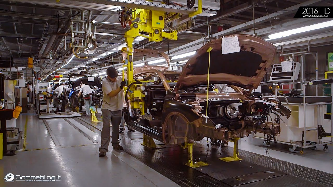 How It S Made The New Infiniti Q30 Factory Plant Youtube
