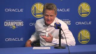 Kerr shrugs at Durant's milestone: 'There's going to be another one in a month'