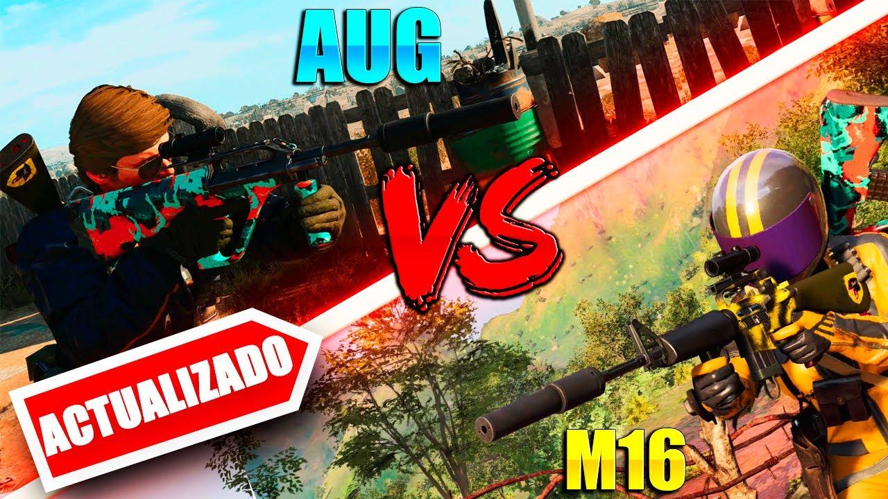 Download M16 VS AUG WARZONE DESPUES DE LOS CAMBIOS (ACTUALIZADO)