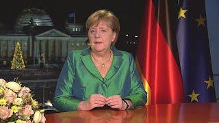 Ansprache der bundeskanzlerin zum jahreswechsel von 2019 auf 2020 im kanzleramt in berlin vom 31. dezember / rede wortlaut hier: https://www.bundeska...