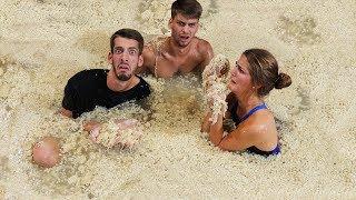 Last To Leave Ramen Noodle Pool Wins $20,000