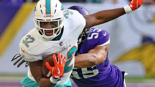Dolphins RB Kenyan Drake says he played his 'worst game of the season' in defeat to the Vikings
