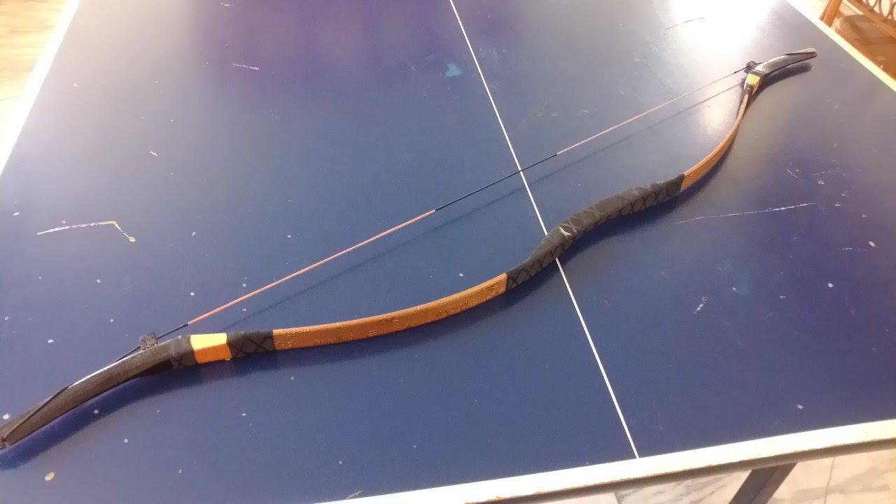 反曲弓 製作工坊 完整教學分享