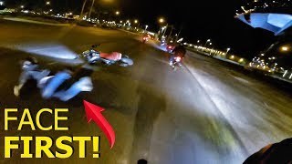 WORST CRASH I HAVE SEEN IN PERSON!