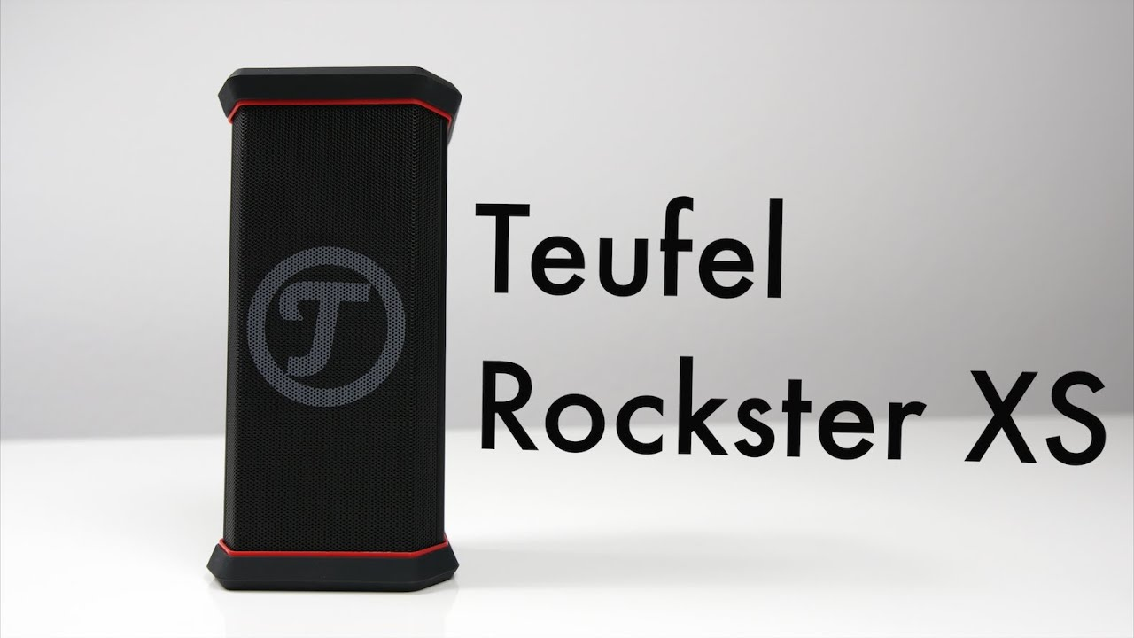 teufel rockster xs review deutsch der beste kompakte. Black Bedroom Furniture Sets. Home Design Ideas