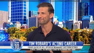 Tim Robards Dishes On 'Neighbours' Role & Challenges Joe | Studio 10