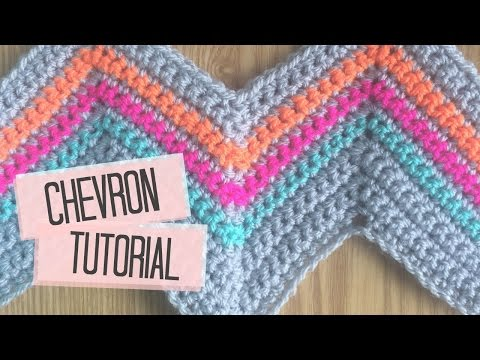 Crochet Chevron Tutorial