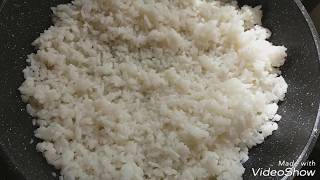 Как приготовить расыпчатый рис