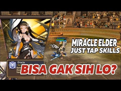 MY FIRST TIME USING MIRACLE ELDER On ARENA LADDER - Dragon Nest M SEA