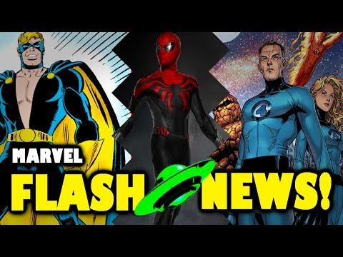 MARVEL: Nuevo traje del CAPTAIN AMERICA, Foto de SPIDER-MAN en INFINITY WAR y 4F  | FLASH NEWS!