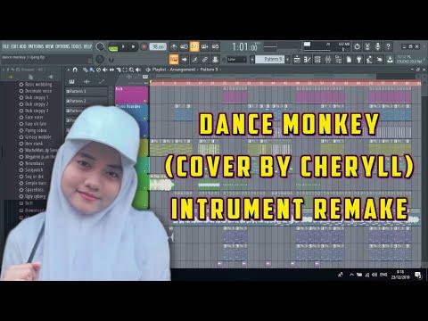tones-and-i---dance-monkey-(instrumen-re-mix-fl-studio-20)-cover-by-cheryll