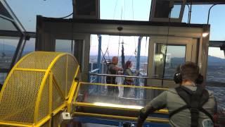 seskok - volný pád z věže Stratosphere v Las vegas