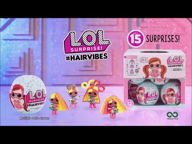 LOL Surprise #Hairvibes - nowe laleczki LOL