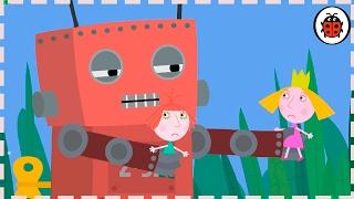Бен и Холли мультик:Игрушечный робот-Маленькое Королевство HD на русском.