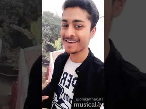 Mere Mehboob Mere Sanam   Omkar Thakur musically video  