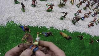 Солдатики игрушки играть с детьми игра как мультики лего роботы война про солдатиков Форт Техас 145