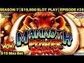 AWESOME RUN! Mammoth Power Slot - HUGE WIN, LOVE IT! - YouTube