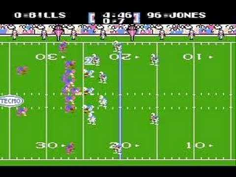 Tecmo Super Bowl, 2007 NFL season: Bills vs. Oilers (1/2)
