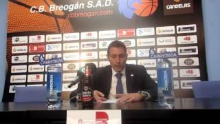 Video Natxo Lezcano tras el Cafés Candelas Breogán - FC Barcelona