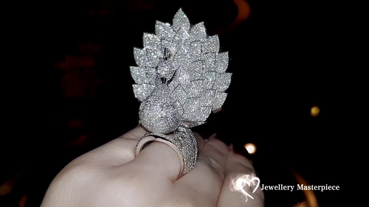 Savio Jewellery Inspirational Peacock Ring