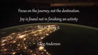 Quotes about enjoying the journey of life with nature clips