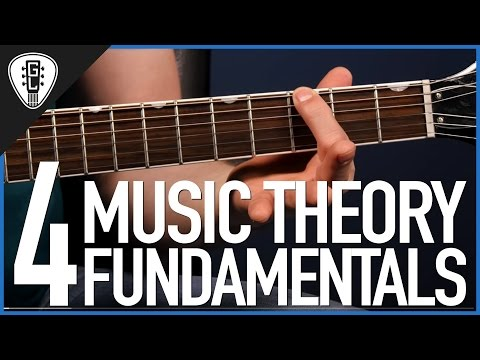 4 Music Theory Fundamentals - Guitar Lesson