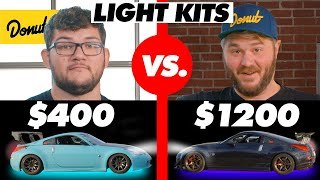 $400 Light Kit vs. $1200 Light Kit