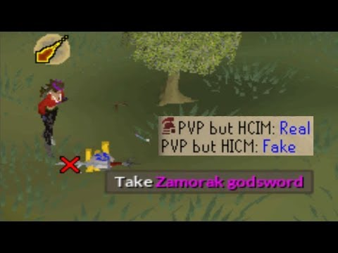 Pretending to be my HCIM in PVP Worlds