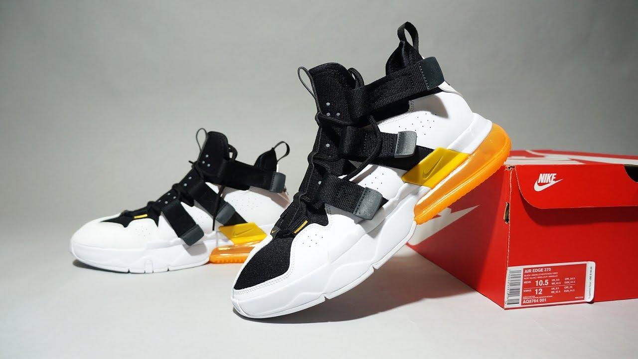Nike Air Edge 270 White Black Yellow