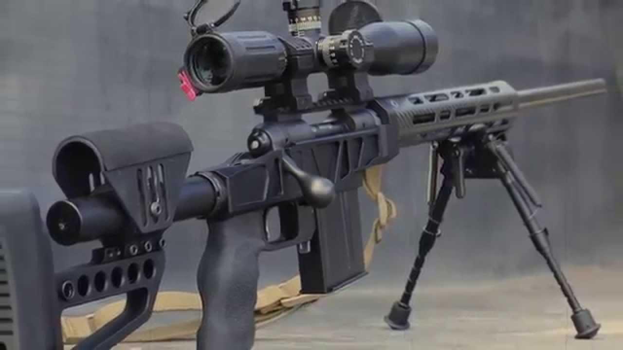 XLR Carbon Rifle Chassis