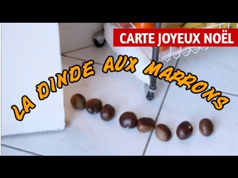 La Dinde Aux Marrons Joyeux Noel Humour Carte Virtuelle Humoristique De Noel Youtube