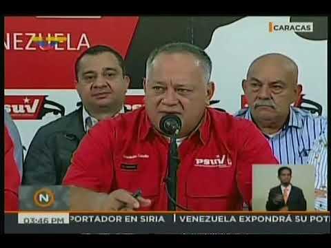 """Diosdado tilda de """"estúpido"""" el ingreso de Colombia a la OTAN"""