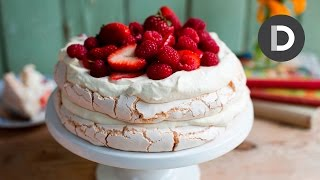 How to make... Strawberry Pavlova Cake!