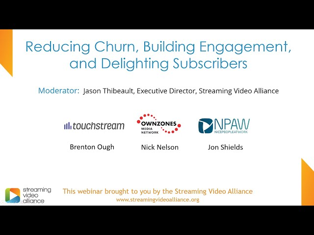 Reducing Churn, Building Engagement, and Delighting Subscribers
