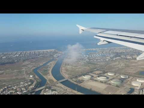 Jetblue Flight 217 Landing @ Long Beach Airport N583JB