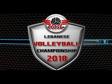 Lebanese Volleyball Championship 2018 - Speedball Vs. Zahra