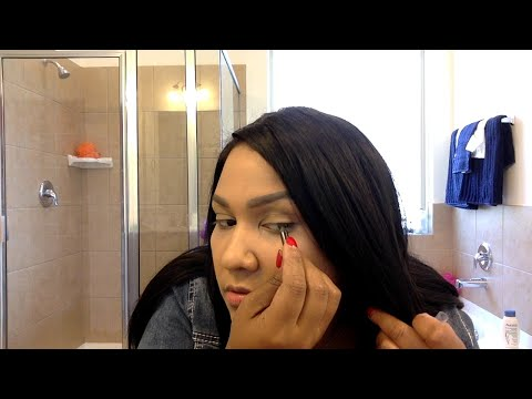 Meghan Markle 's Smokey Eye and Make Up Look GRWM