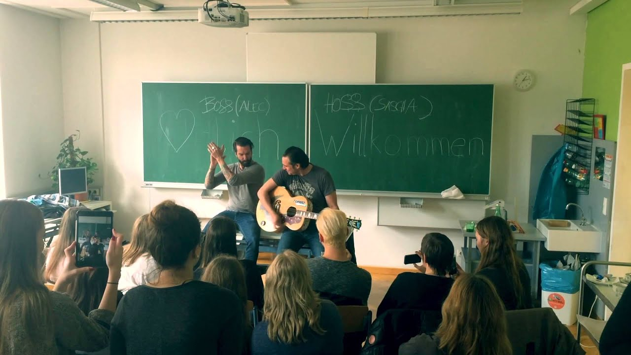 LIBRO Class Roomsession Mit The BossHoss
