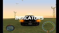 GTA San Andreas: How to install Turn Indicator mod + Gameplay