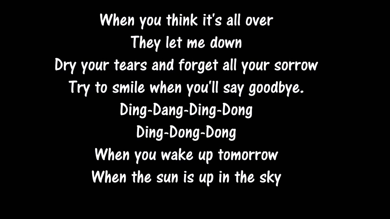 Teach In - Ding-a-dong (lyrics) - YouTube