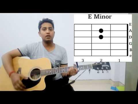Pehli Dafa Atif aslam song guitar chords lesson easy strumming pattern guitar tutorial